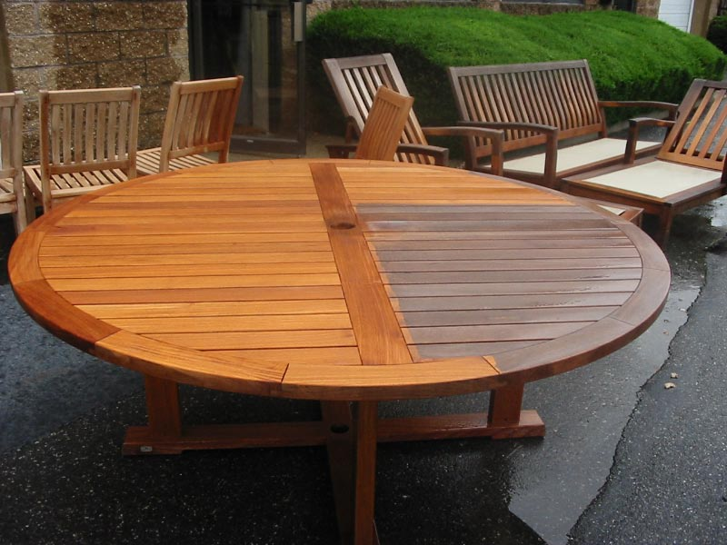 Refinish Teak Outdoor Furniture
